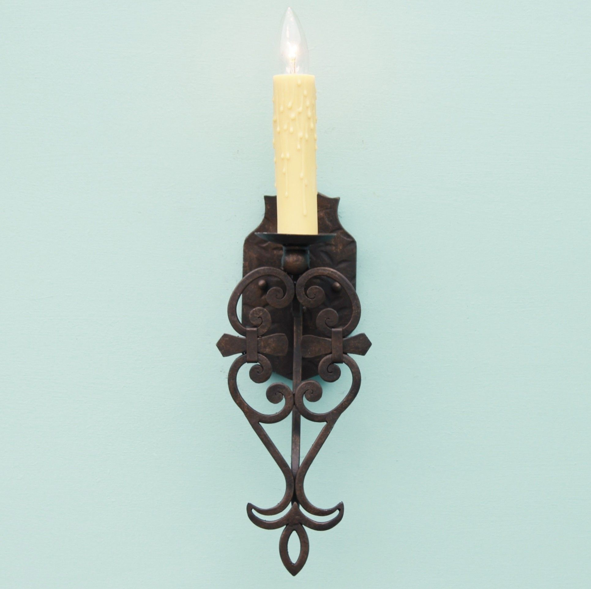 flowers wrought uk sconces candle com iron wall sconce angeloferrer