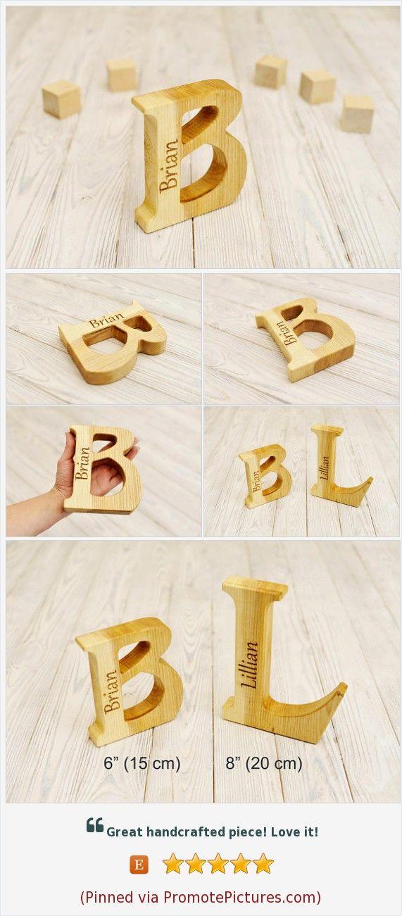 Wooden letter 6\