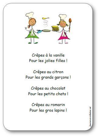 Comptine cr pes la vanille comptines chants for Chambre 13 vanille et citron