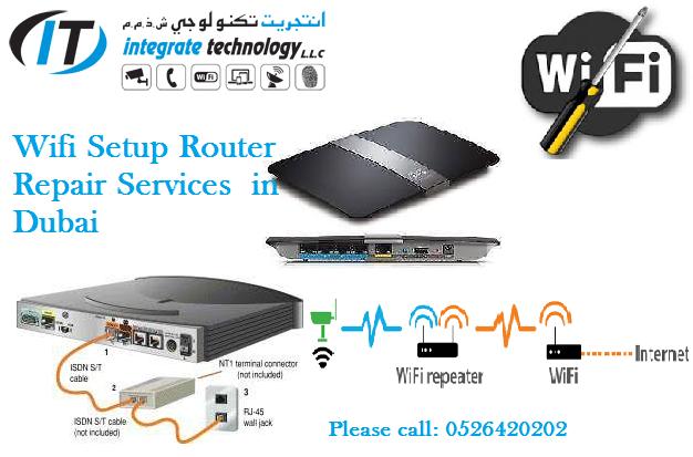 Wifi Router Range Extender Installation For Home Villa School Office 0526420202 It Technician Technical Support Installation Router Wifi Network Internet Setup