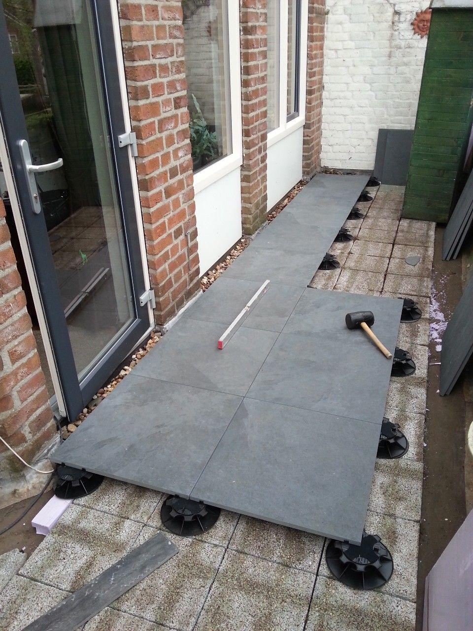 Intercodam tegels b v projectreferentie renovatie for Tegels voor dakterras