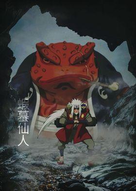 Metal Poster Naruto Manga