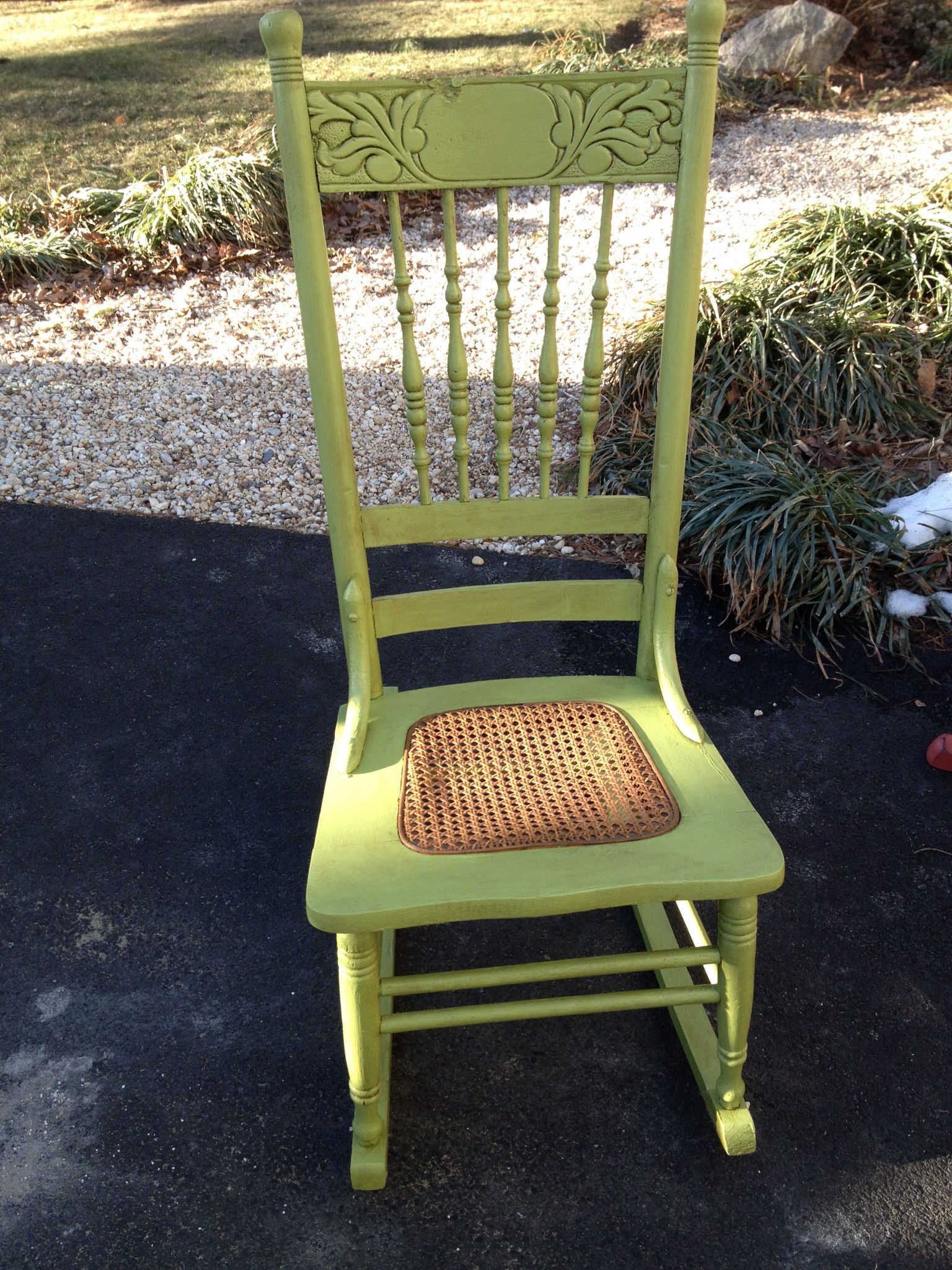 Antique sewing chair - Painted Antique Sewing Rocker Rocking Chairsrockers