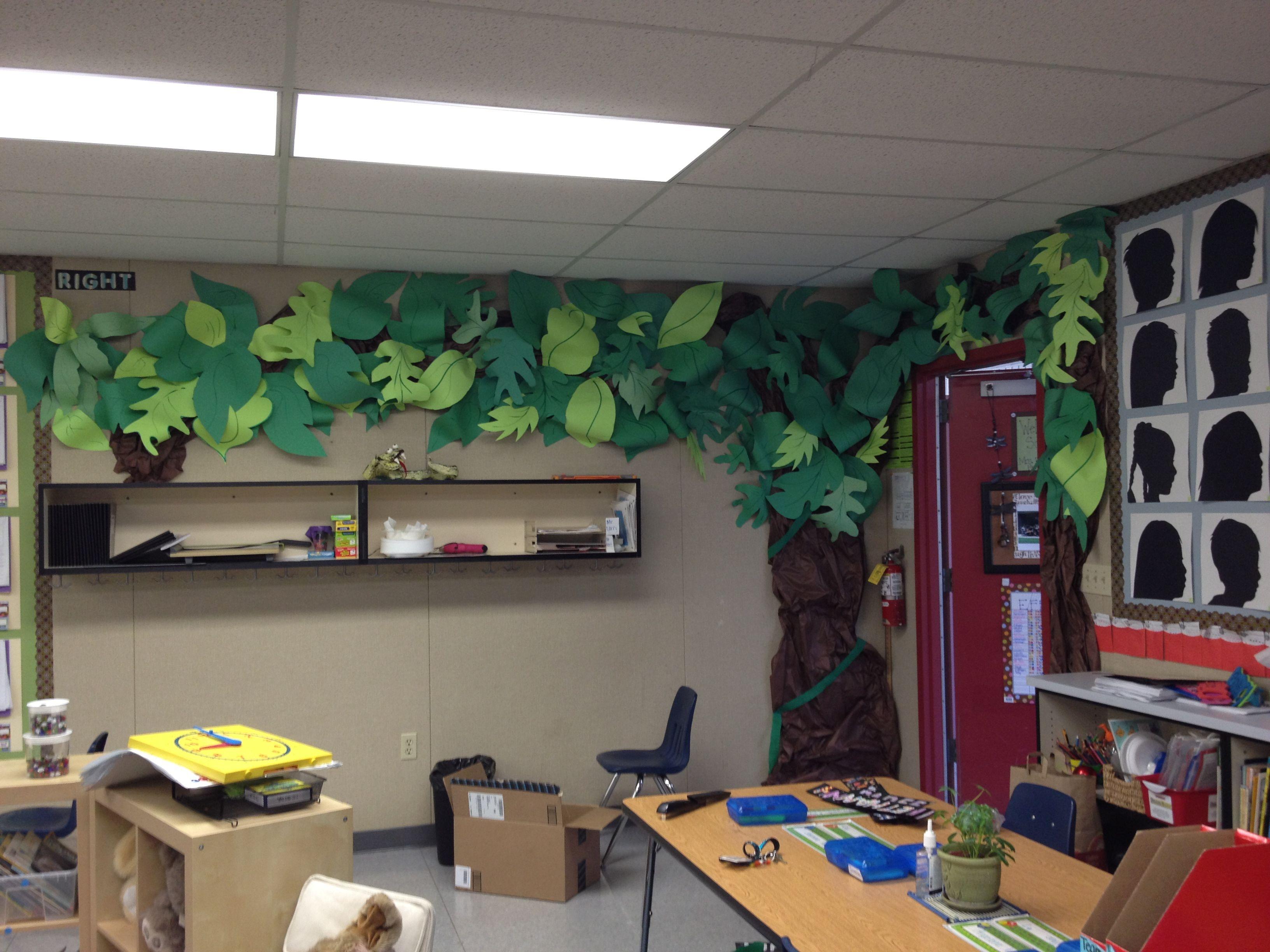 Rainforest Bulletin Board School Goodies