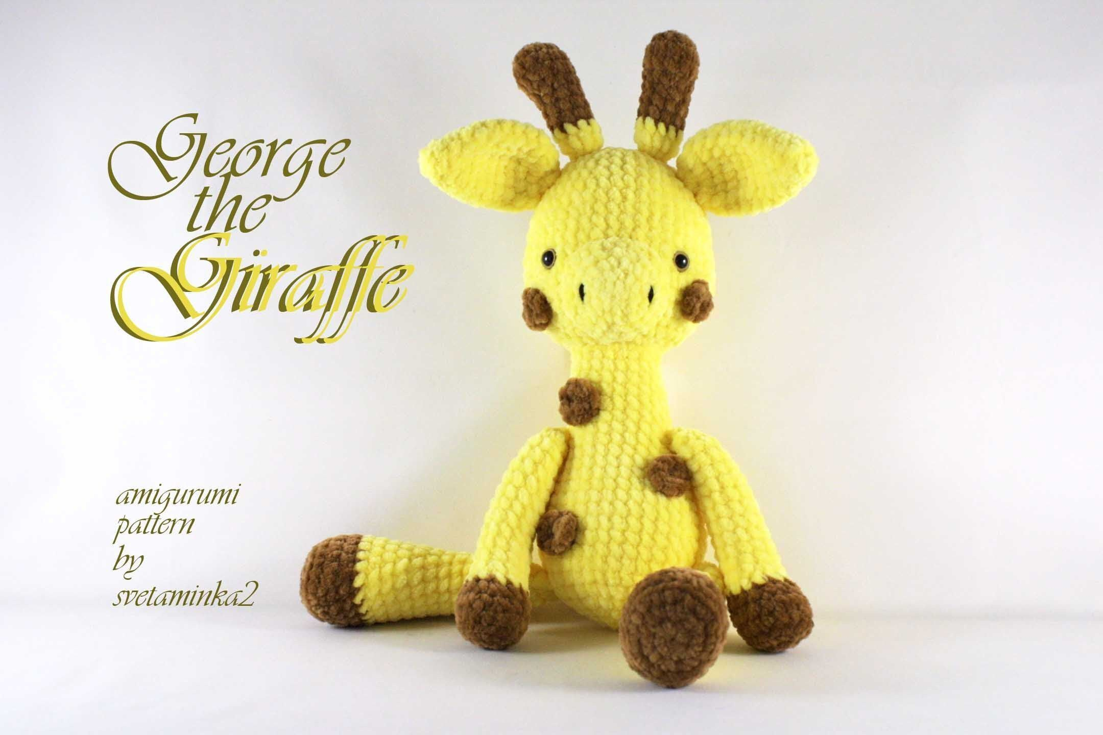 Crochet Giraffe Pattern Amigurumi Pattern Crochet Animal Pattern Plush Toy Pattern Crochet Cute Toy Pattern Amigurumi Giraffe pdf Pattern #giraffepattern Make your own crochet Giraffe with this step-by-step amigurumi crochet pattern with lots of photos. PLEASE NOTE: This is the PDF Crochet Pattern in ENGLISH (US terminology), not the finished toy. The crochet pattern is available for Instant Download. When your payment is cleared you will receive an email with all the information needed to downl #crochetgiraffepattern