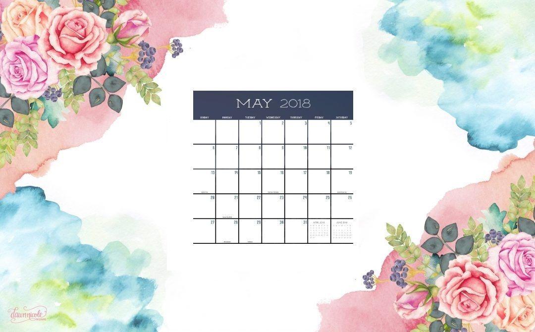 Terrific Cute May 2018 Desktop Calendar 2018 Calendars May 2018 Download Free Architecture Designs Xoliawazosbritishbridgeorg