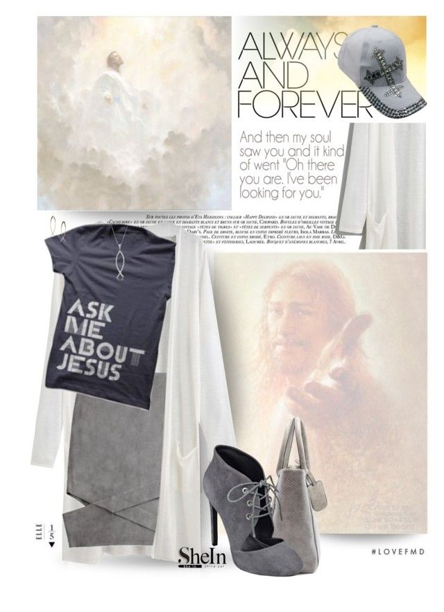 """""""The Only Answer for That Longing"""" by spicedblossom ❤ liked on Polyvore featuring La Femme, COS, Nine West, Bling Jewelry and MANGO"""