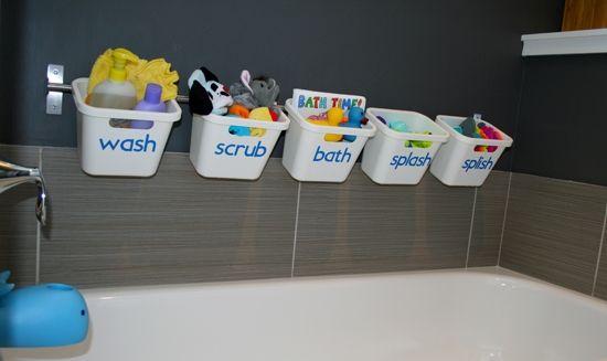 Diy Bath Toy Storage Trucos De Bano Almacenamiento Juguetes Y