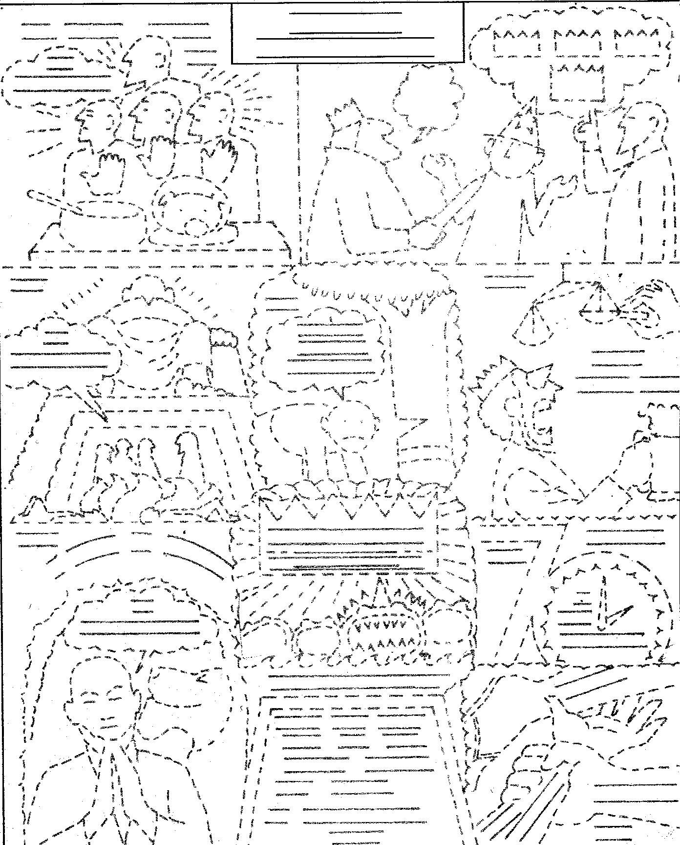 blog bible daniel 001 - Gideon Bible Story Coloring Pages