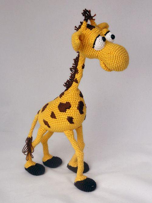 Ginnie the Giraffe | Recipe | Giraffe crochet, Crochet giraffe ... | 667x500