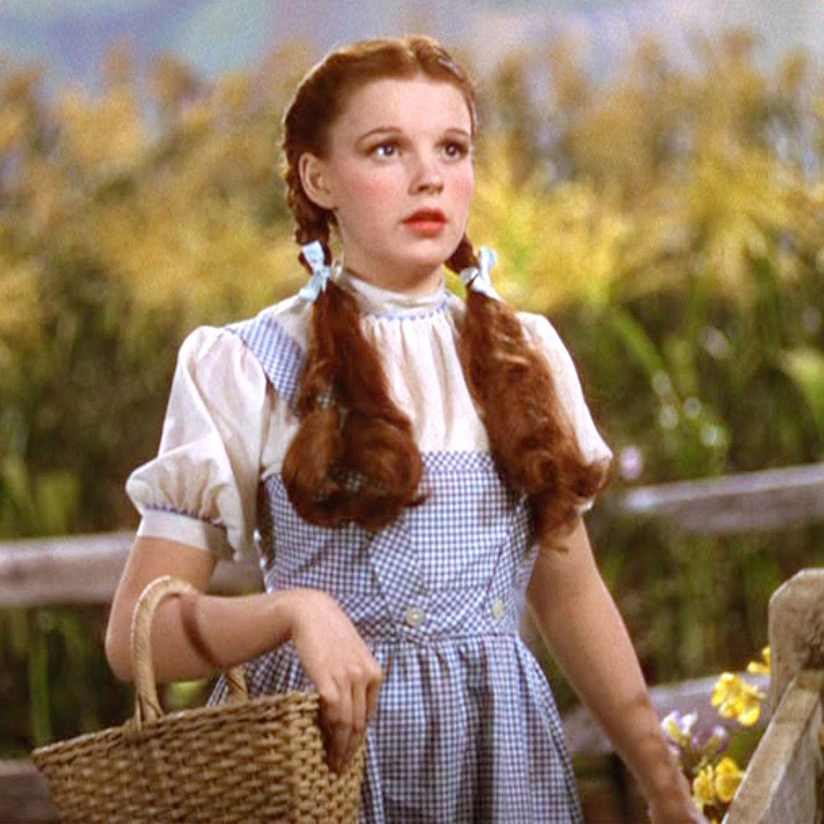 redhead halloween hairstyle tips: dorothy, wizard of oz