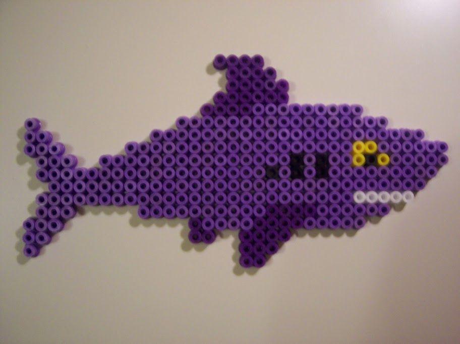 Shark hama beads by Juan José Prieto