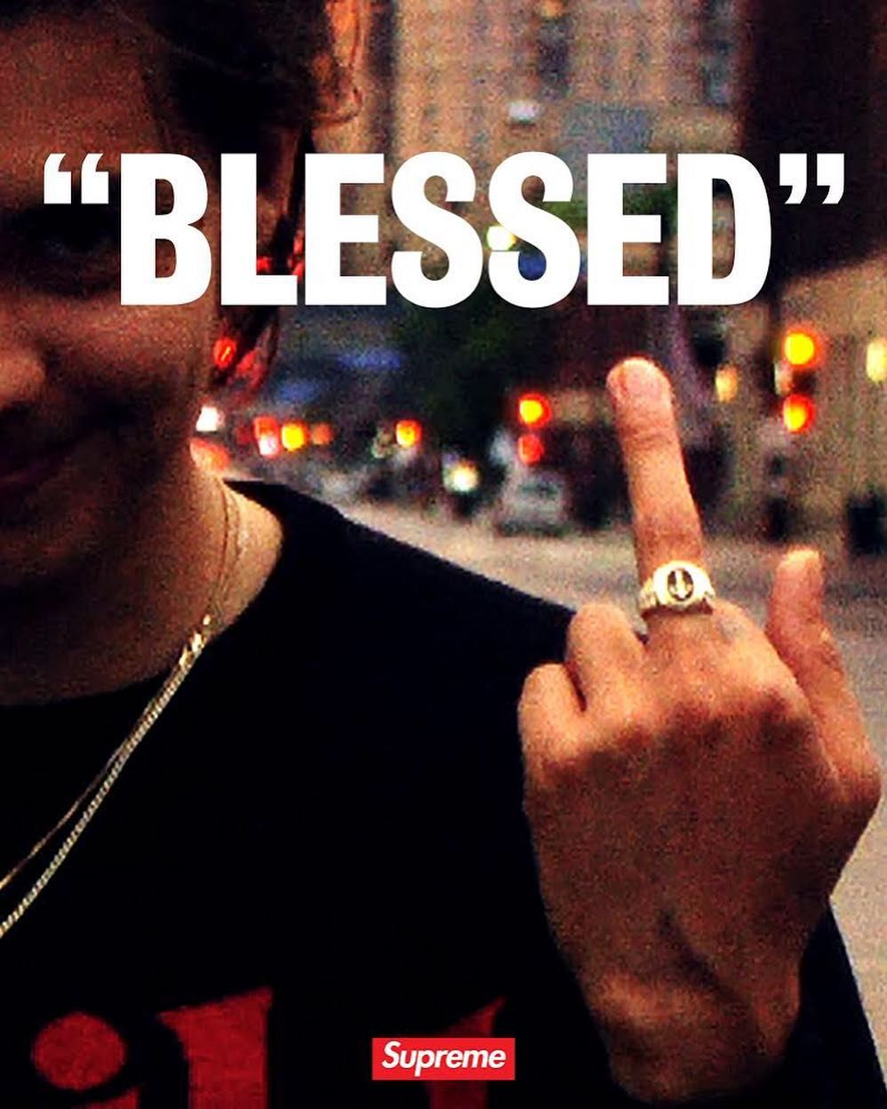 """9465021d3890 Supreme (@supremenewyork) """"BLESSED"""" a full-length video by William Strobeck  for Supreme. Coming soon."""""""