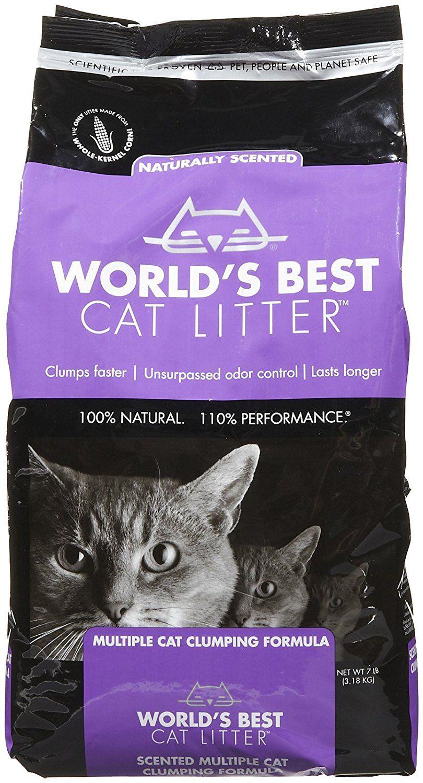 World's Best Scented Multicat Clumping Litter 7 lb