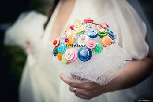 Bouquet de boutons - La Vie en Bouquet