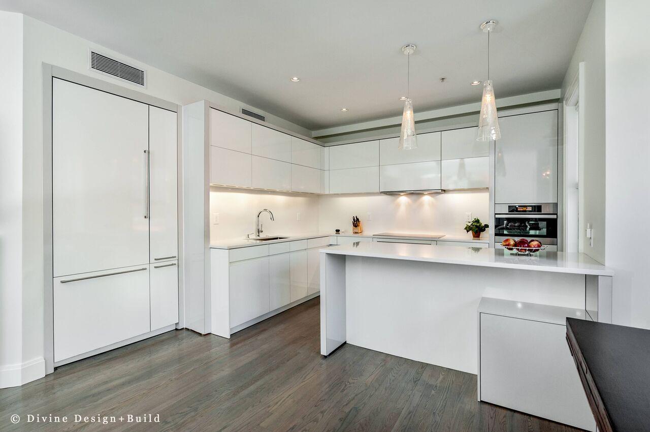 Kitchen Designers Boston Best Modern All White Kitchen Design  Modern Kitchens  Pinterest Design Ideas