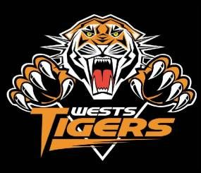 My Rugby League Team The Wests Tigers Wests Tigers National Rugby League Sports Logo