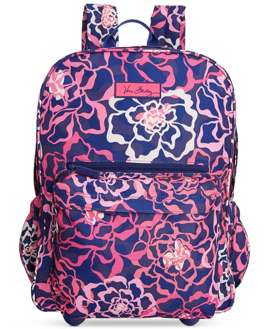 c8643b2fd875 Vera Bradley Lighten Up Rolling Backpack