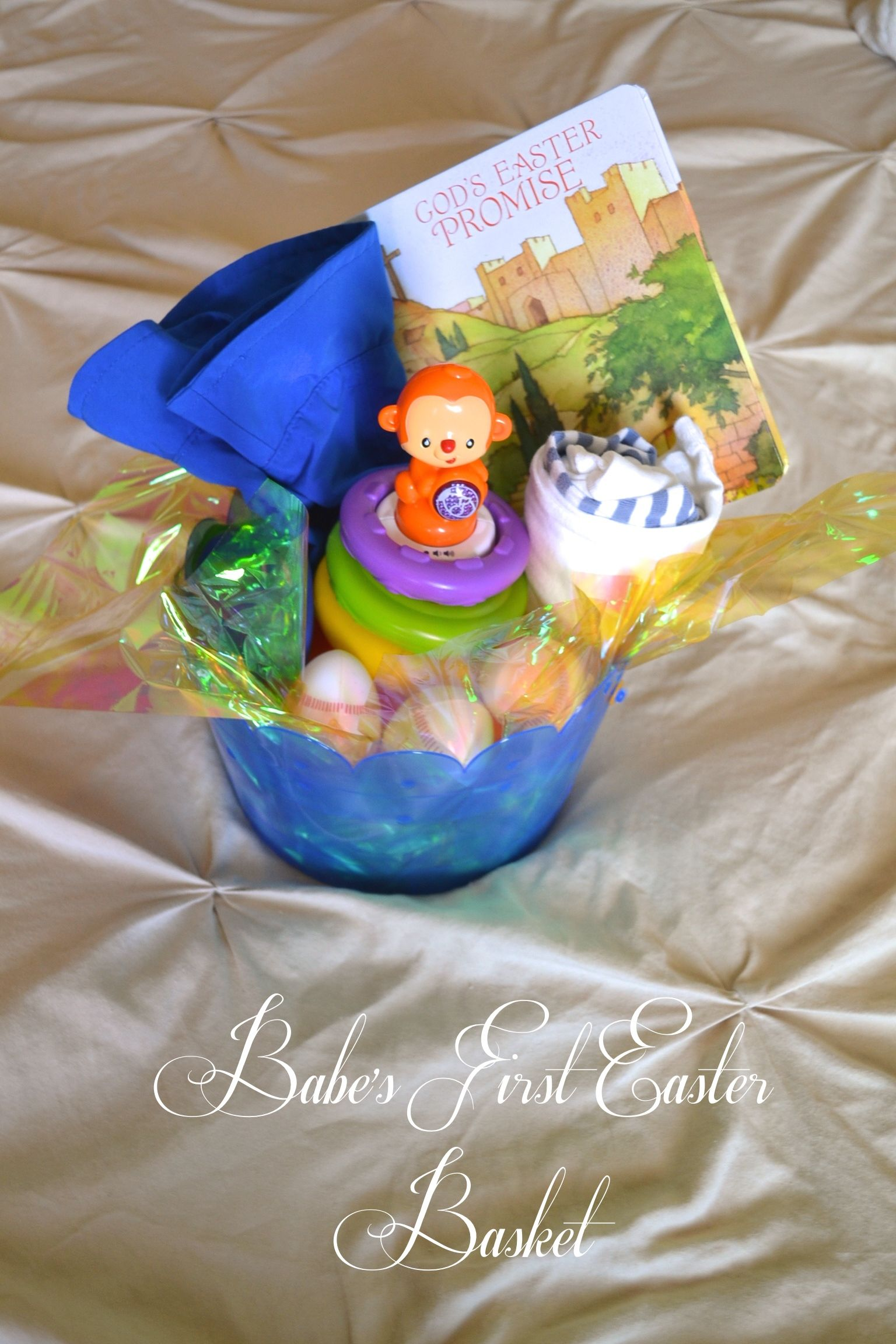 Babys first easter basket ideas for a 7 month olds easter babys first easter basket ideas for a 7 month olds easter basket easter basket negle Gallery