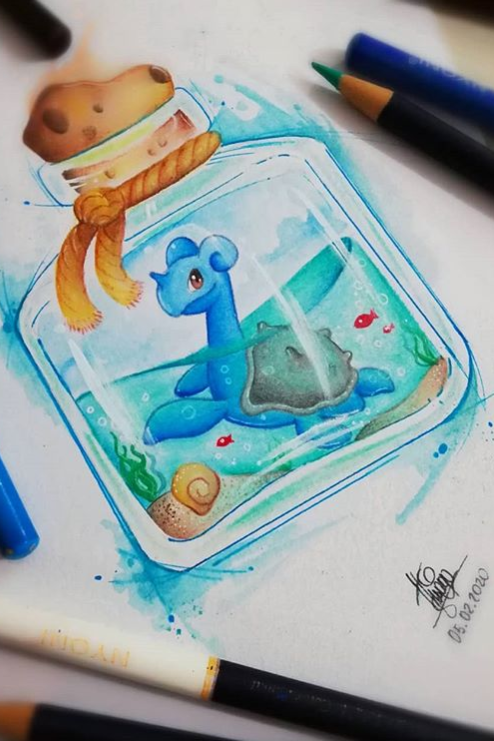 Aspiring Artist Register To Be Featured And Show Off Your Skills With Our Step By Step Tutorials Pokemon Drawings Creative Art Drawings