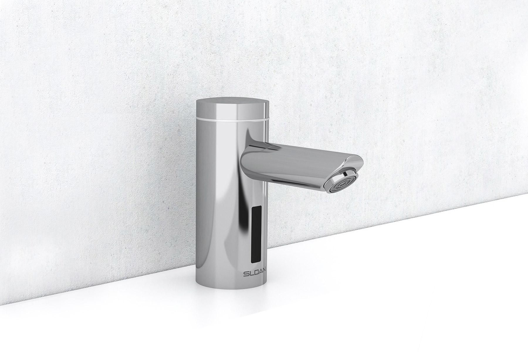 Sloan Touchless Faucets Enhance Any Commercial Restroom Sink