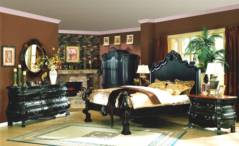 EASTERN LEGENDS Orange County Furniture Store Bedroom Furniture By Marge  Carson, Century, Hooker,