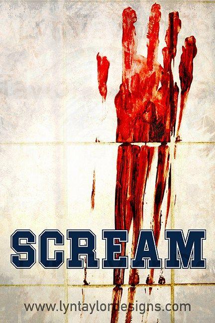 Scream Pre-Designed Creative Concept Art  by Lyn Taylor Designs