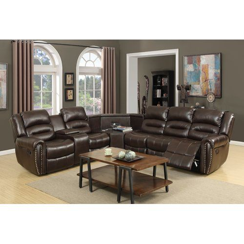 Pleasing Scheele Left Hand Facing Reclining Sectional Living Room Ibusinesslaw Wood Chair Design Ideas Ibusinesslaworg