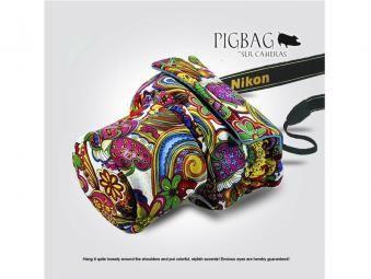 PIGBAG ピッグバッグ かわいいカメラの洋服 一眼レフカメラ専用カメラケース
