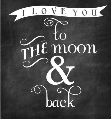 to the #moon and #back