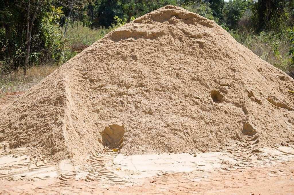 Areia de Fingir (Recife) 10 m³ | Materiais de construção civil, Materiais  de construção, Construção
