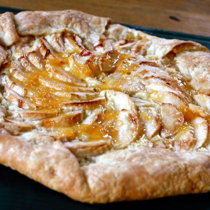 Apple Galette By Catherine Newman If pie crusts scare
