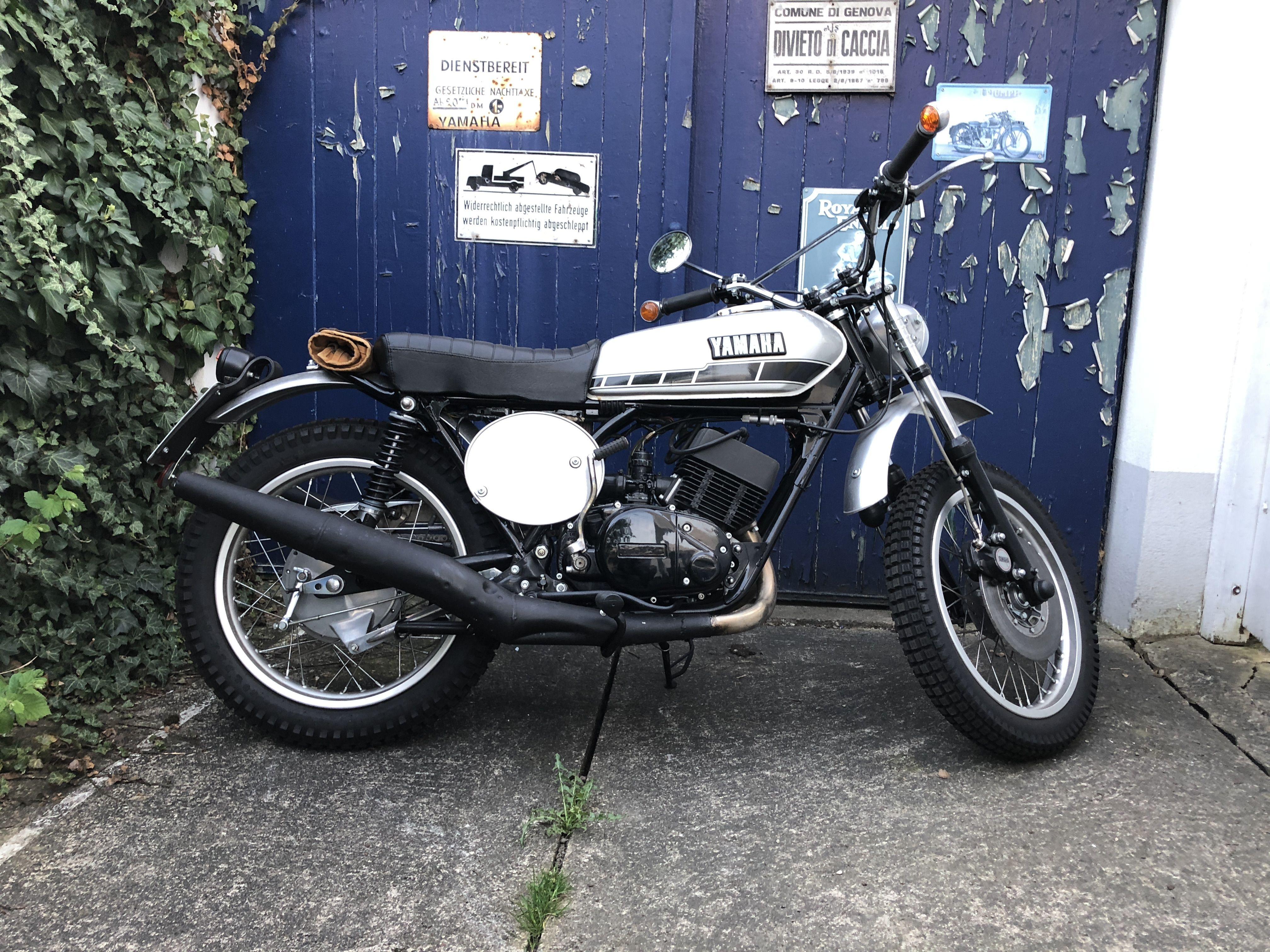 Yamaha Rd 250 Scrambler Motorrad