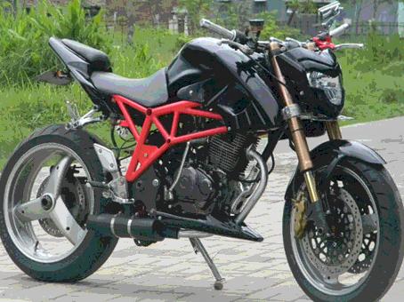 Kumpulan Modifikasi Yamaha Byson Keren Terbaru Motor Ganteng