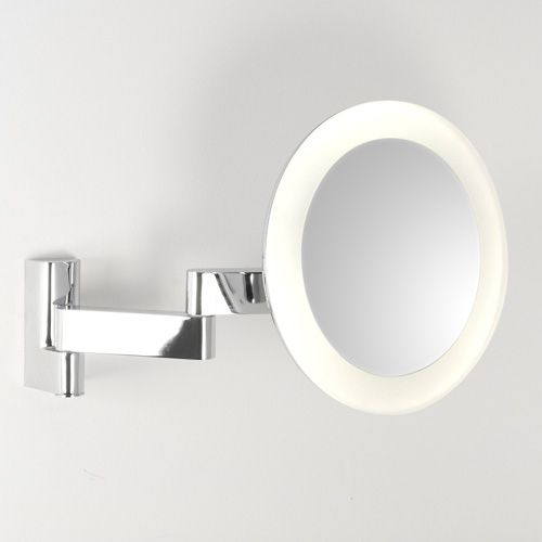 Bathroom magnifying vanity mirrors ideas pinterest vanities led round vanity mirror measuring energy efficient and rated for the bathroom in zones 2 and from lighting styles the bathroom lighting store aloadofball Gallery