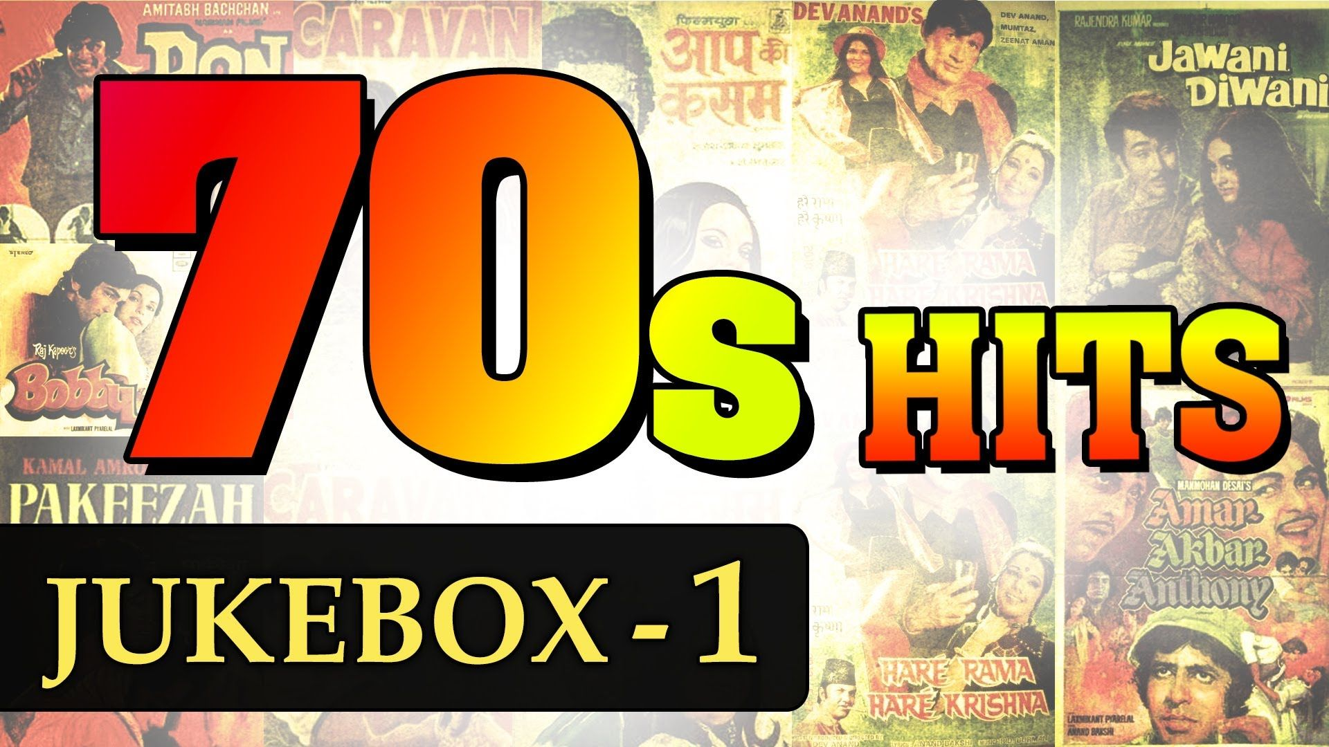 Best of 70's Hindi Songs - Jukebox - 1 - Non Stop Bollywood Old Hits