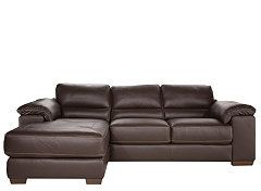 Cindy Crawford Maglie 2 Pc Leather Sectional Sofa