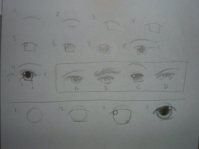 how to draw dreamy eyes by repeated reflections deviantart com on