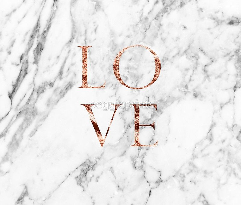 f53a348ce1694 Rose gold marble LOVE' Wall Tapestry by peggieprints | Wallpapers ...