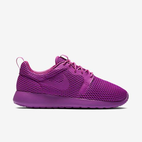 pretty nice 91282 1595a Sparkly Women s Nike Roshe One Hyperfuse BR -Hyper Violet Made with  SWAROVSKI® Crystals- New In Box