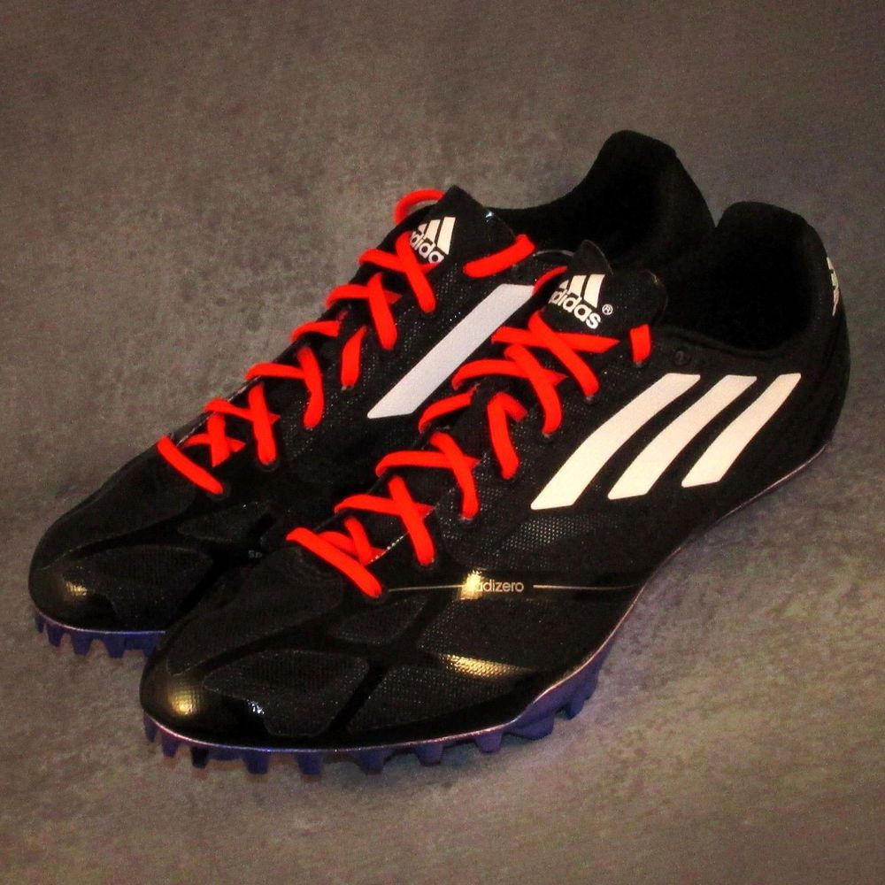 reputable site 77d4d 033ad Adidas Adizero Prime Finesse Spikes Size 7.5 (Women s 8.5) Black Red   B23440  Adidas  SprintersHurdlesSpikes