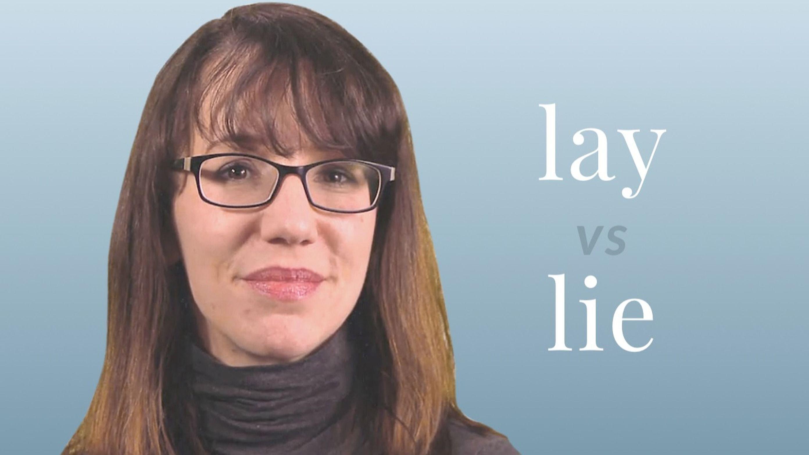 Lay Vs Lie Video