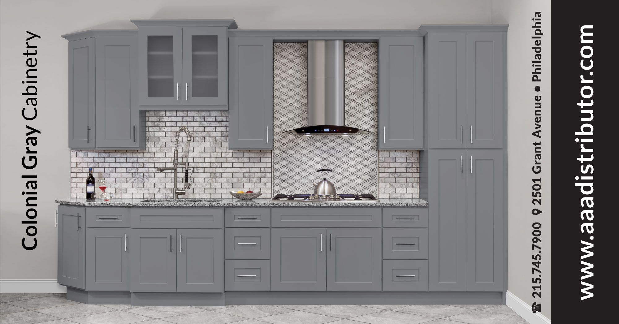 New Collection In Stock Modern Gray Shaker Kitchen Cabinets And Accessories All Wood Frame Construct Wood Frame Construction Kitchen Cabinets Diy Wood Floors