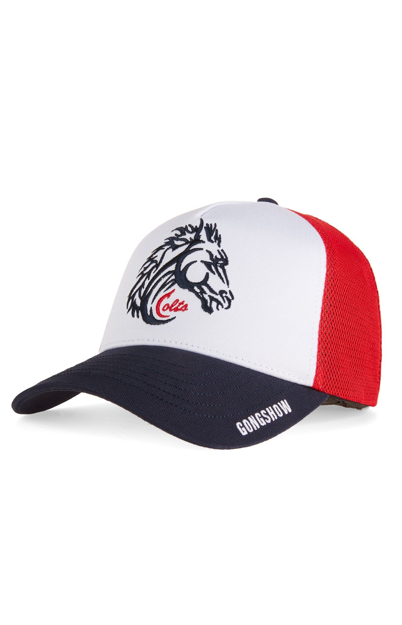 f72deefb447 Gongshow Cornwall Colts Official CCHL White Hockey Hat