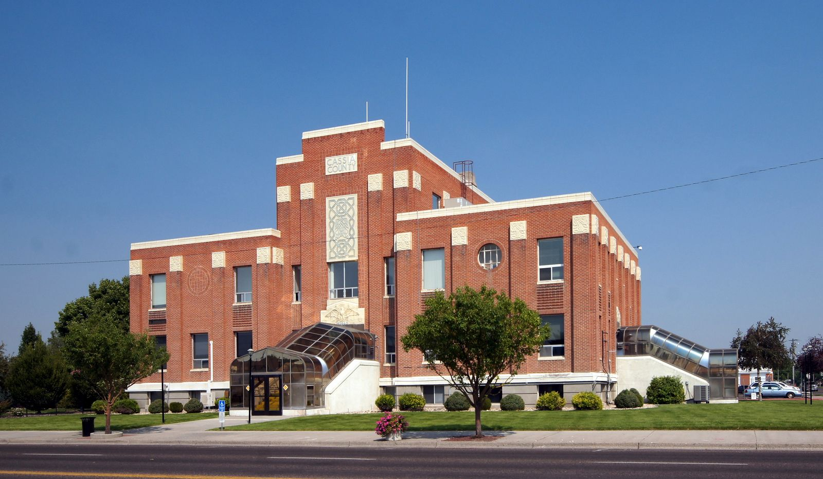 1939 wpa building cassia county courthouse burley