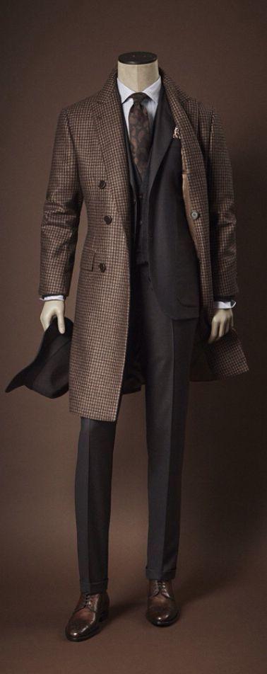 Kiton Distinguished Style 199flags.com Men's Fashion