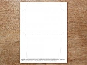 free printable envelope template a6 engagement party pinterest