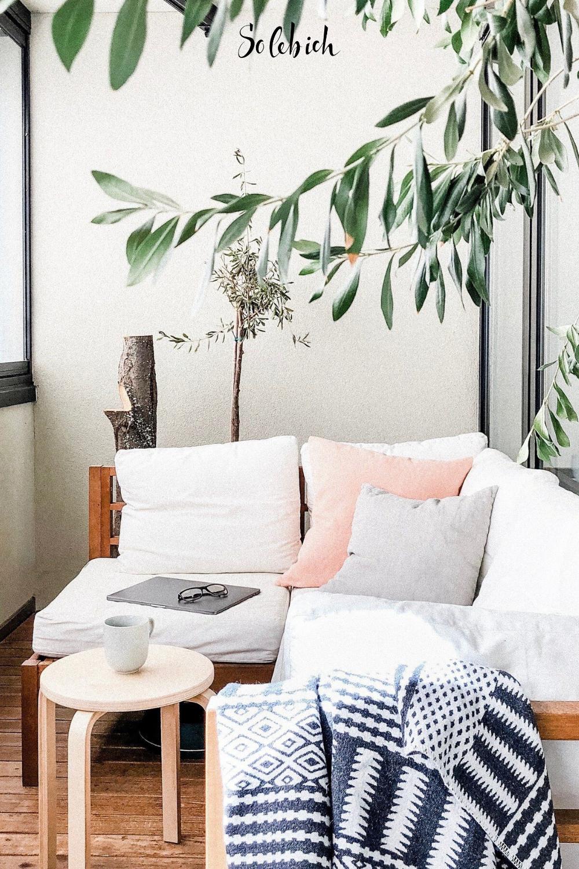 23+ Schöne Ideen für deinen Balkon, dein Sommerwohnzimmer ... Image