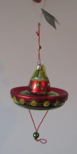 Seasons of Cannon Falls Blown Glass Garland Fishing Lure Fish NEW Christmas Tree