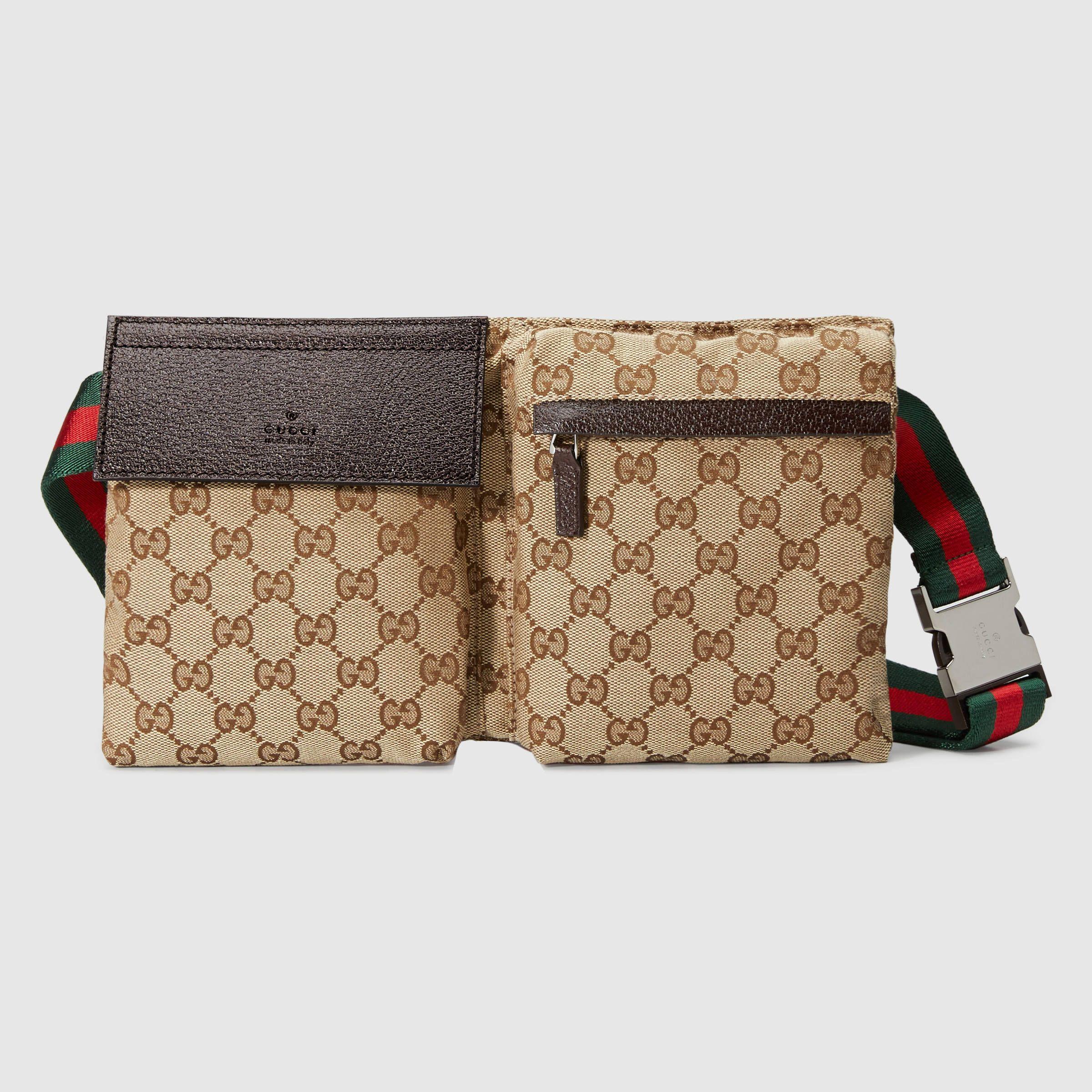 03ef8d238cf Gucci Men - Original GG canvas belt bag - 28566RKQW7R9791